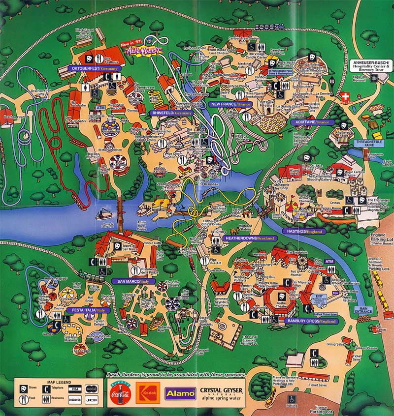 Back From The Dead Theme Park Map Day Dc 39 S