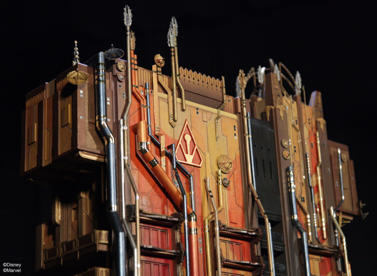Guardians of the Galaxy Fortress Model